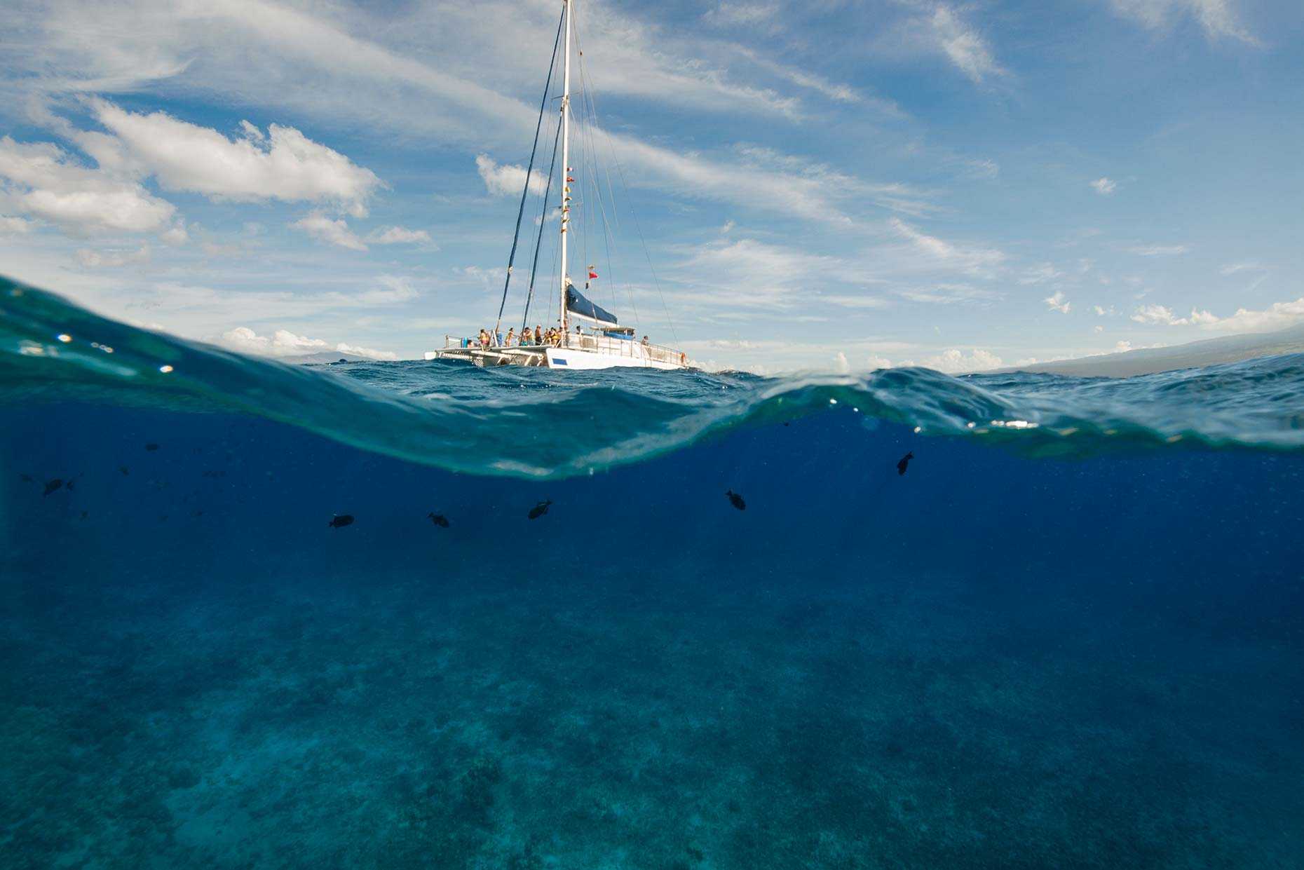Ian-Coble-Beach-Lifestyle-Resort-Hawaii-Maui-Sailing-Underwater-Snorkeling